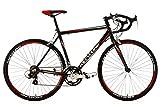 Rennrad 28'' Euphoria schwarz Alu-Rahmen RH 62 cm KS Cycling