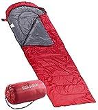 PEARL Mini Schlafsack: Superleichter Sommer-Schlafsack, Deckenschlafsack 210 x 75 cm (Leichter Sommerschlafsack)