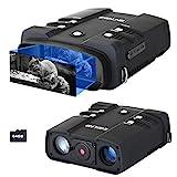 ESSLNB Nachtsichtgerät 10,8X Vergrößerung 1080P mit 64GB Karte und 8 AA Batterien 4' LCD Bildschirm 2300 Yards Reichweite Wiedergabe Foto und Videoaufnahmefunktion