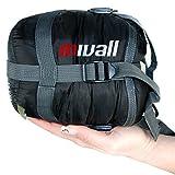 Mivall Ultraleicht, klein, warm Sommerschlafsack Hüttenschlafsack - Schlafsack 720g